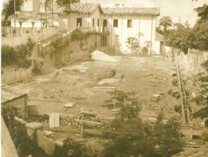 Terreno onde foi construído o Vila - entre 1962 e 64