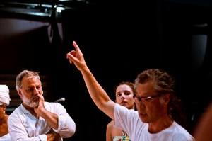 Workshop de Tadashi com o Bando d Teatro - abril de 2011 - foto: João Milet Meirelles