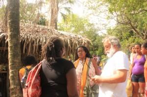 vilma reis e marcio meirelles no quilombo